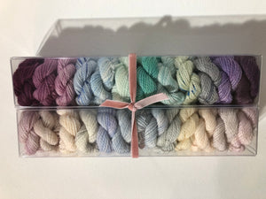 The Great Gatsby; Minis set on Charles Merino Fingering Weight Yarn
