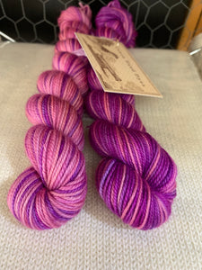 In Bloom Polar Opposites Self-Striping; Charles Merino SPORT Yarn