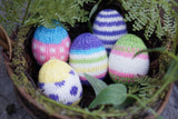 Easter Eggs Minis Set; Wiliam Merino Yarn