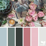 Pinks, Grays, Blues Gradient Advent Kit Pre-Order