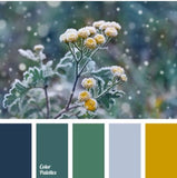 CONTRAST for Yellows/Greens/Blues Gradient Fade Advent Kit READY TO SHIP