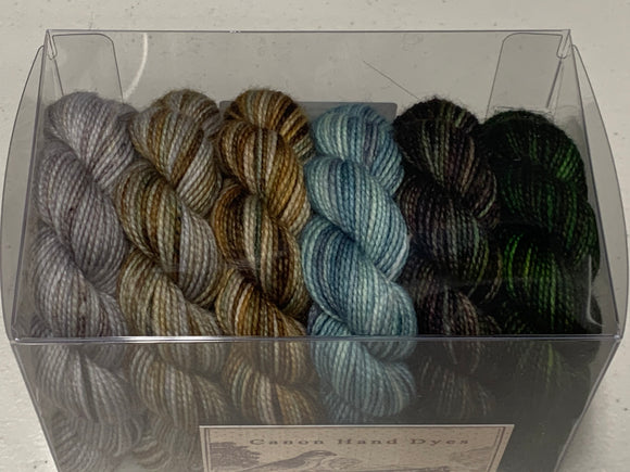 Colors of Happiness 25g minis; Set 2 Charles Merino Fingering