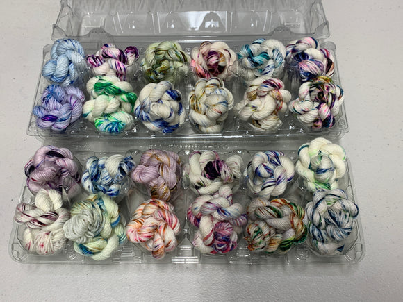 Free Range Speckles Minis Set; William Merino Yarn