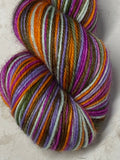 Teen Witch; 6 Color Stripes Self-Striping Yarn