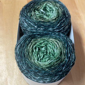 Gradient Sock Twins; Fionn Merino Yarn