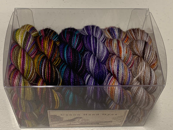 Colors of Happiness 25g minis; Set 1 Charles Merino Fingering