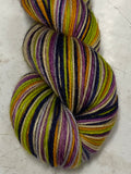 Basic Witch; 6 Color Stripes Self-Striping Yarn