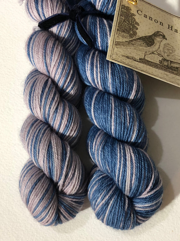 Sense & Sensibility Polar Opposites Self-Striping; William Merino Fingering Yarn