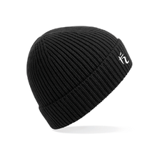 Load image into Gallery viewer, RIBBED BEANIE - BLACK