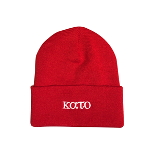CLASSIC BEANIE - RED
