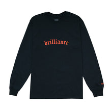 Load image into Gallery viewer, 30% SALE - BRILLIANCE LS TEE BLACK