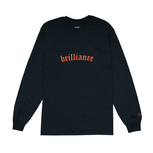 30% SALE - BRILLIANCE LS TEE BLACK