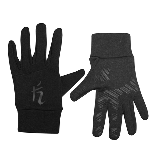 SOFTSHELL GLOVES - BLACK ON BLACK
