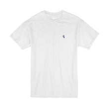 Load image into Gallery viewer, 30% SALE - WHITE EMBROIDERY TEE