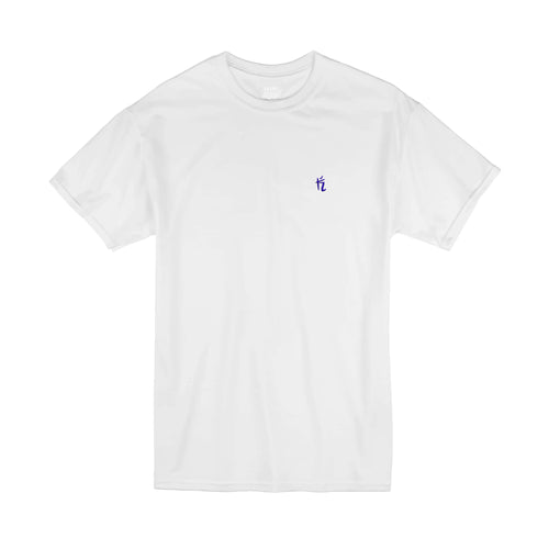 30% SALE - WHITE EMBROIDERY TEE