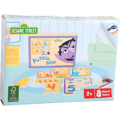 Sesame Street Puzzle Box - Little Fawn Box - Subscription box for mum and baby