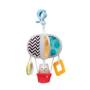 Taf Toys Obi Owl Chime Bell Pram Mobile - Little Fawn Box - Subscription box for mum and baby