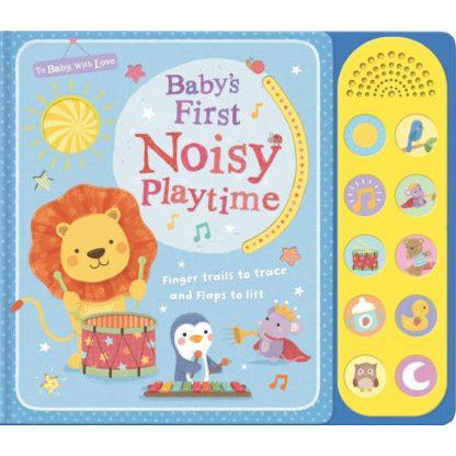 Baby's 1st Noisy Playtime Sound Book