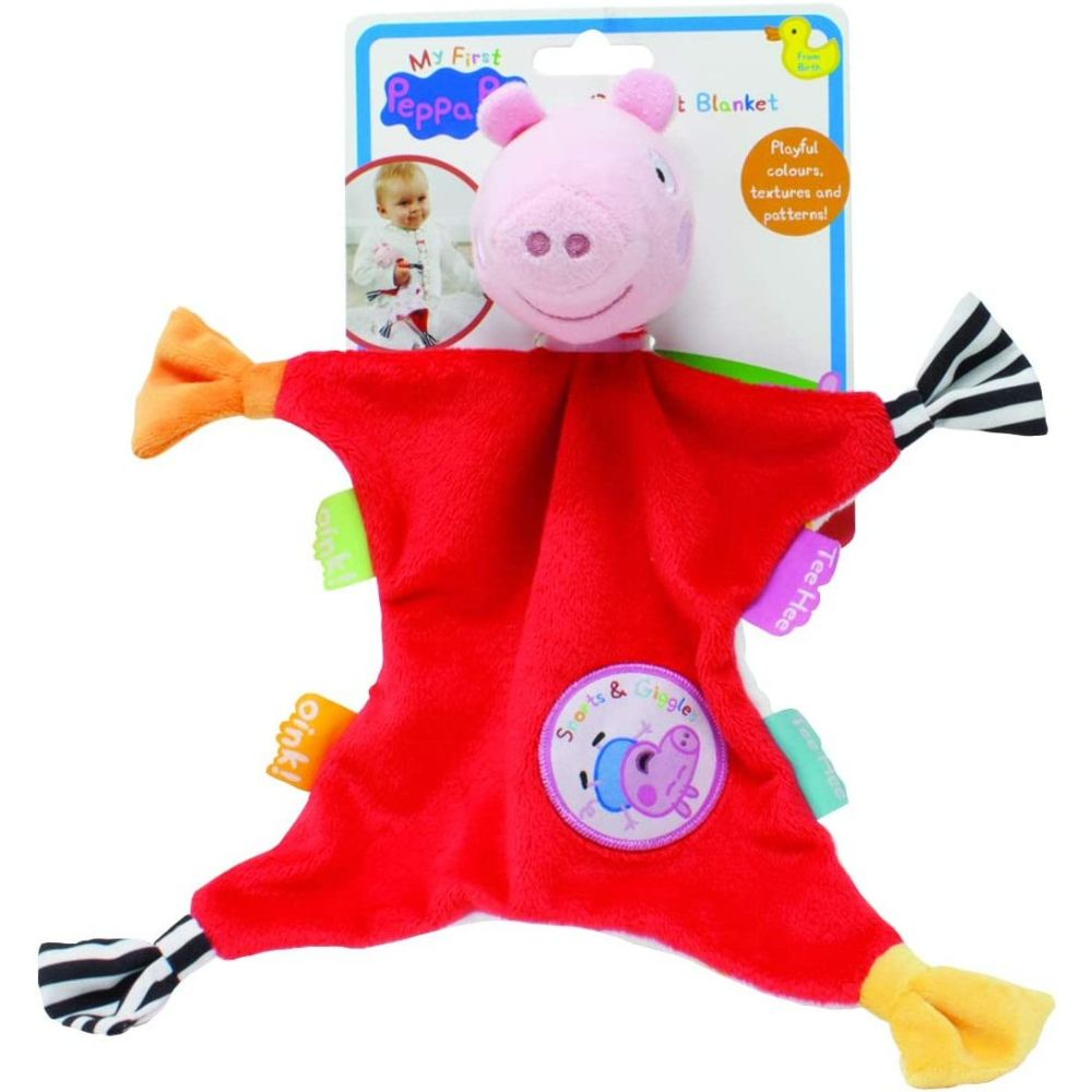 My 1st Peppa Comforter - Little Fawn Box