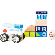 Load image into Gallery viewer, Ambulance Construction Set with Sound - Little Fawn Box - Subscription box for mum and baby