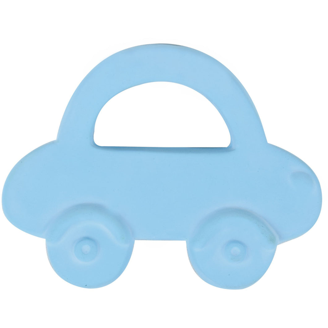 Natural Rubber Teether - Car - Little Fawn Box