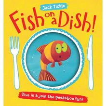 Load image into Gallery viewer, Fish on a Dish! (Paperback) - Little Fawn Box - Subscription box for mum and baby