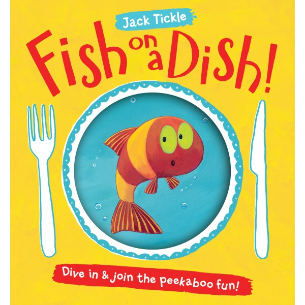 Fish on a Dish! (Paperback) - Little Fawn Box - Subscription box for mum and baby