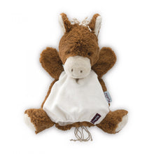 Load image into Gallery viewer, Puppet Comforter Mocha HORSE | Kaloo