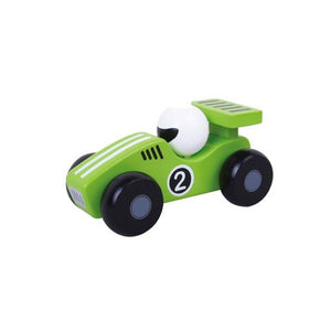 Racing Car - Green - Little Fawn Box - Subscription box for mum and baby