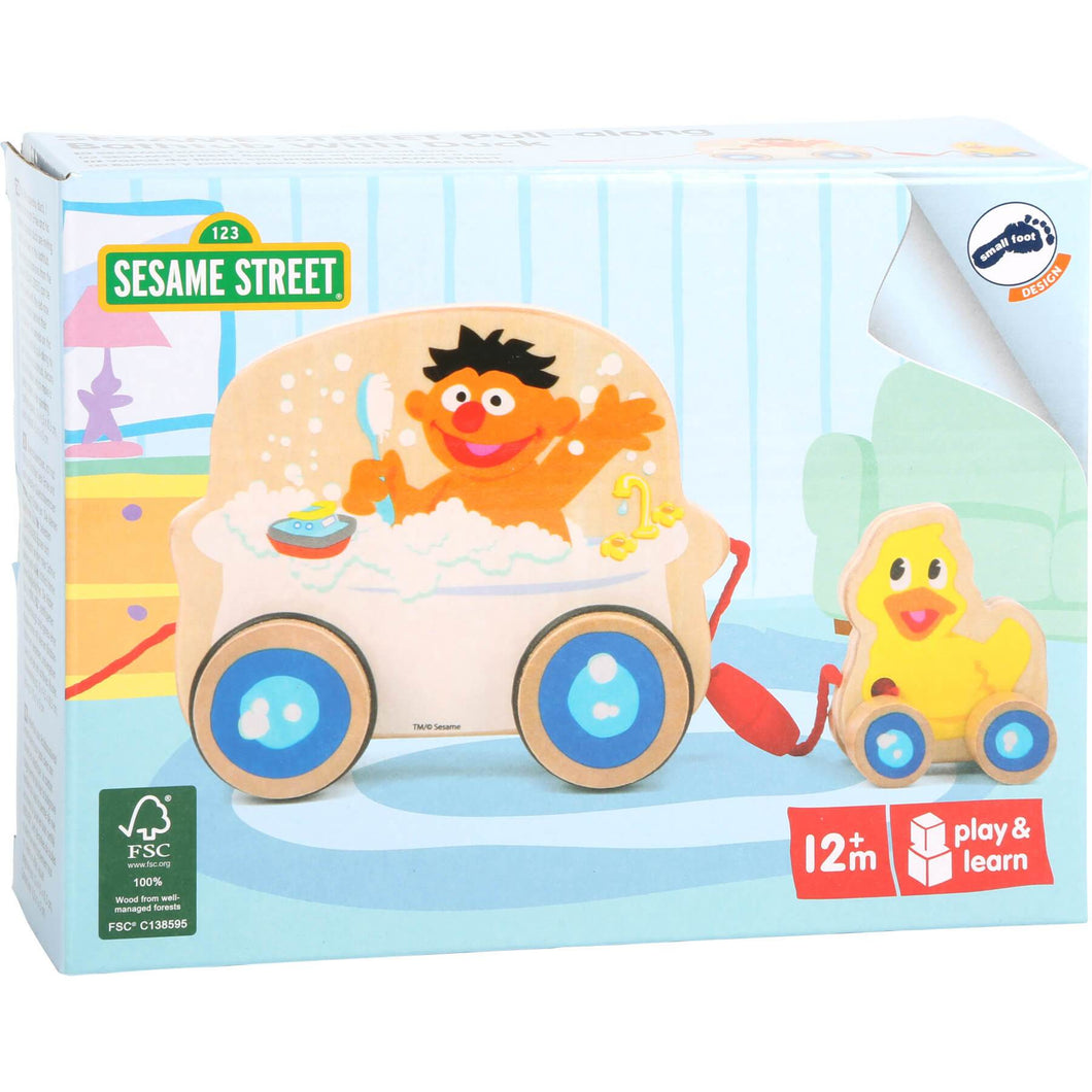 SESAME STREET Pull Along BATH TUB - Little Fawn Box - Subscription box for mum and baby