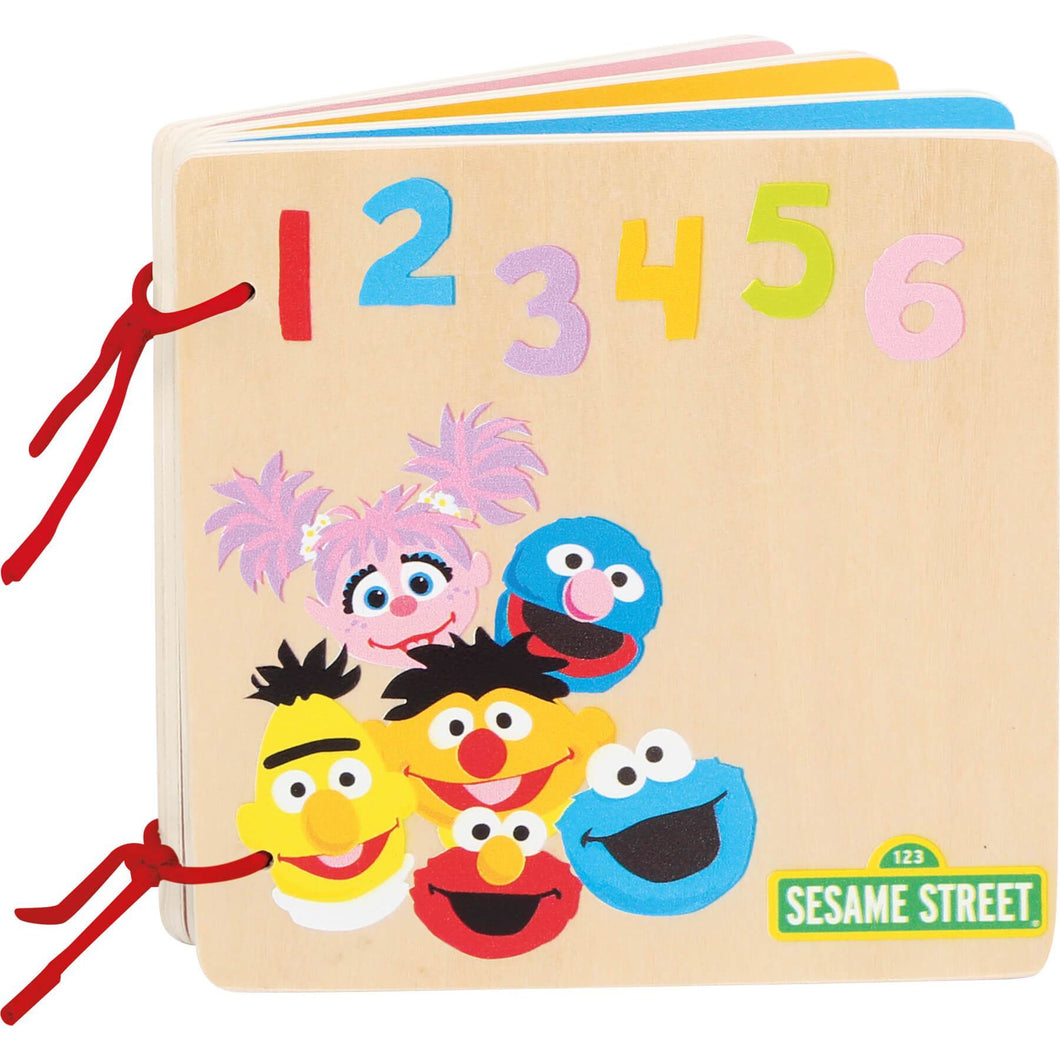 SESAME STREET Wooden Book - Little Fawn Box - Subscription box for mum and baby