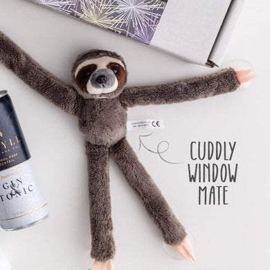 Cuddly Window Mates | Sloth - Little Fawn Box