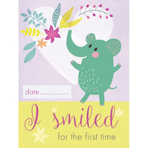 Smile Baby! Milestone Cards - Little Fawn Box - Subscription box for mum and baby