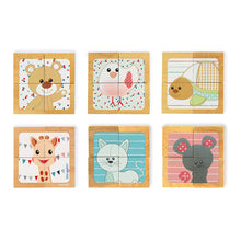 Load image into Gallery viewer, Sophie The Giraffe 4 Block Tray | Janod