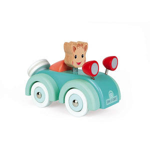 Sophie The Giraffe Wooden Car | Janod