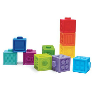 Edushape Textured Pop Blocks - Little Fawn Box - Subscription box for mum and baby