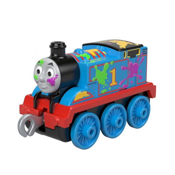 Trackmaster Push Along - Thomas Paint Splat - Little Fawn Box - Subscription box for mum and baby