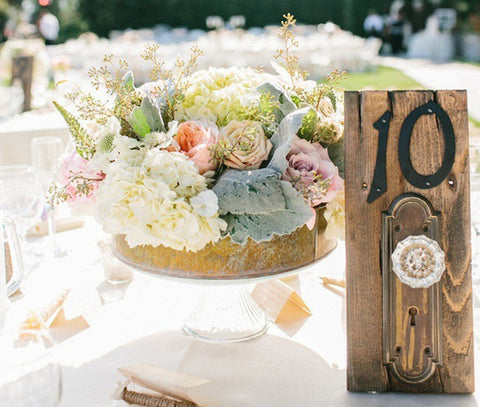 rustic-wedding-table-number | Cestash