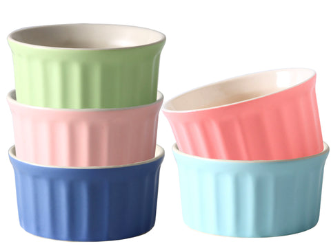 Ceramic ramekins souffle cups from Cestash