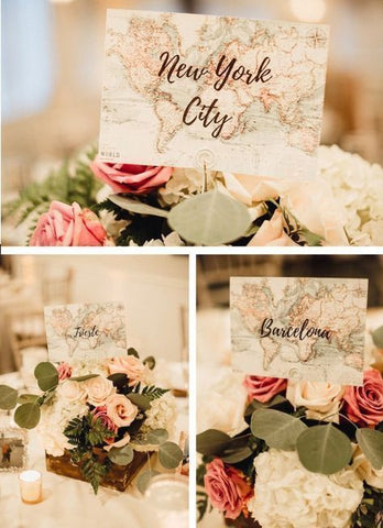 Travel-theme-wedding-table-numbers | Cestash