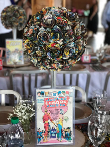 comic-book-wedding-table-numbers | Cestash