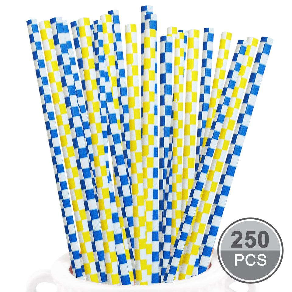 Paper Drinking Straws - Pack of 250