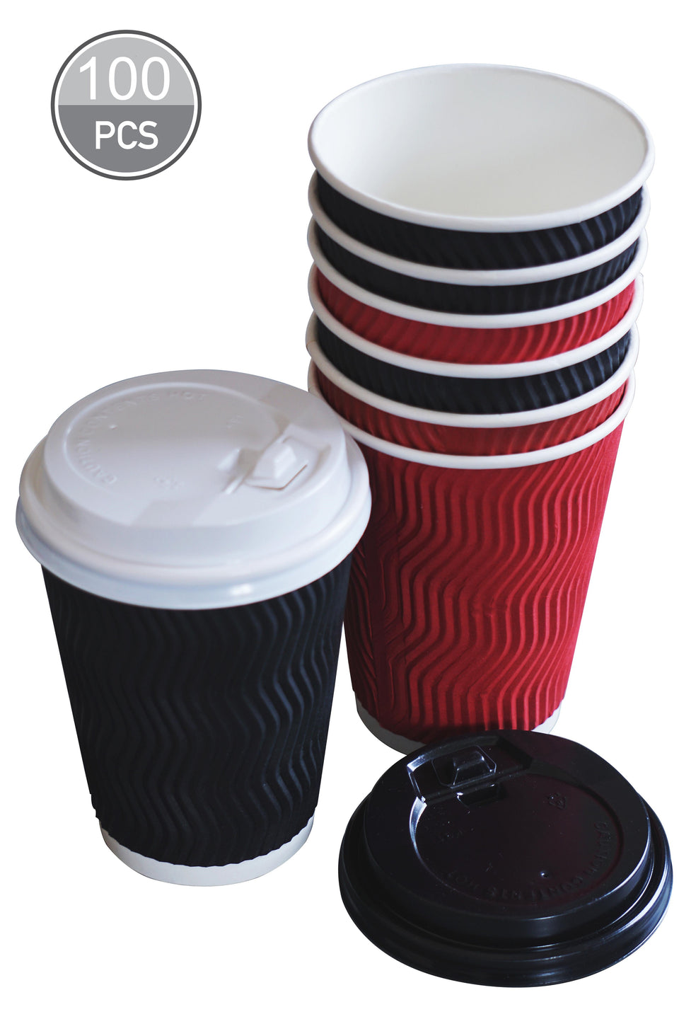 12 oz coffee cups with lids