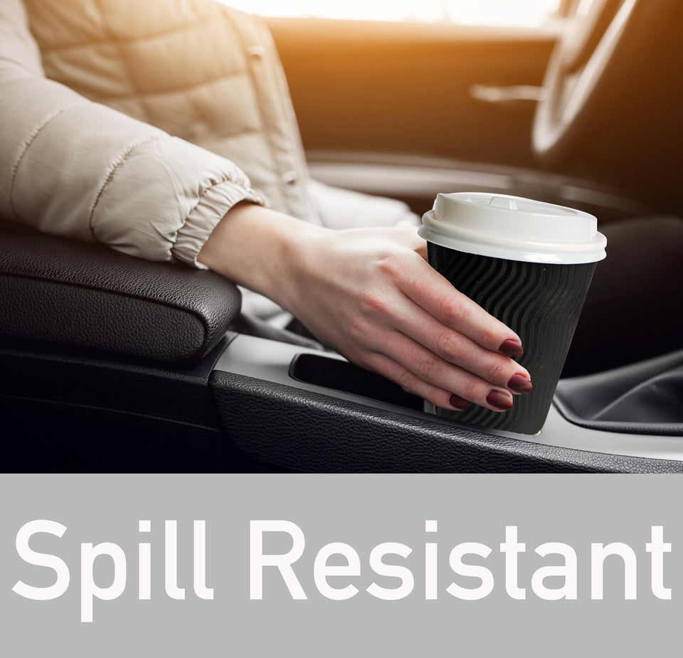 spill resistant coffee cups