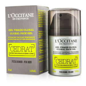 L'Occitane CEDRAT Gel Visage Global 50 ml Gel Viso Globale - MIA PROFUMERIA