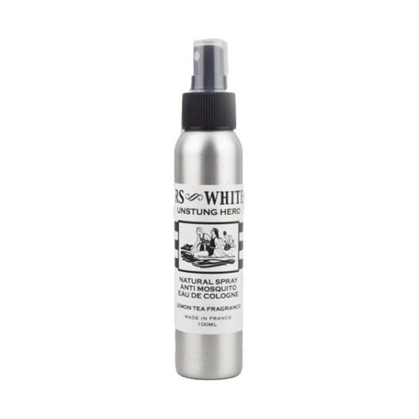 Mrs White's Unstung Hero Natural Spray Anti Mosquito Eau de Cologne 100 ml - MIA PROFUMERIA