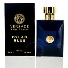 Versace DYLAN BLUE Homme After Shave Lotion 100 ml - MIA PROFUMERIA