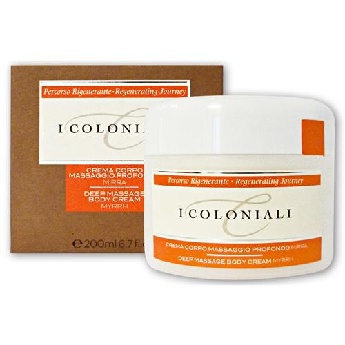 I Coloniali Crema Corpo MASSAGGIO PROFONDO alla mirra 200 ml