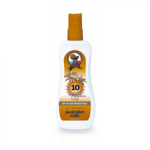 Australian Gold Spray Gel Sunscreen SPF10 237 ml - MIA PROFUMERIA