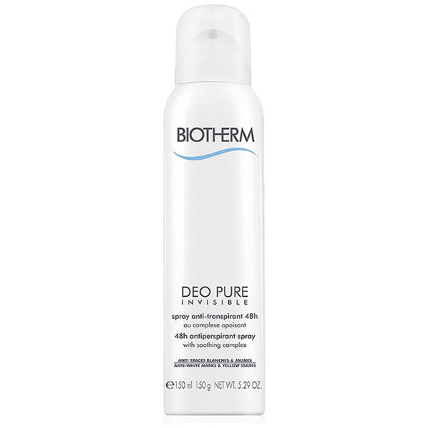 Biotherm DEO PURE INVISIBLE Ato 150 ml - Deodorante Spray - MIA PROFUMERIA